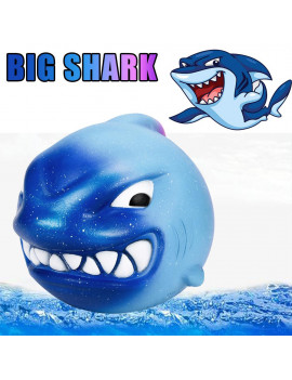 12CM Squishies Big Shark Cream Scented Slow Rising Squeeze Toys Collection Charm