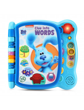 LeapFrog Blues Clues and You! Clue Into Words Book for Preschoolers