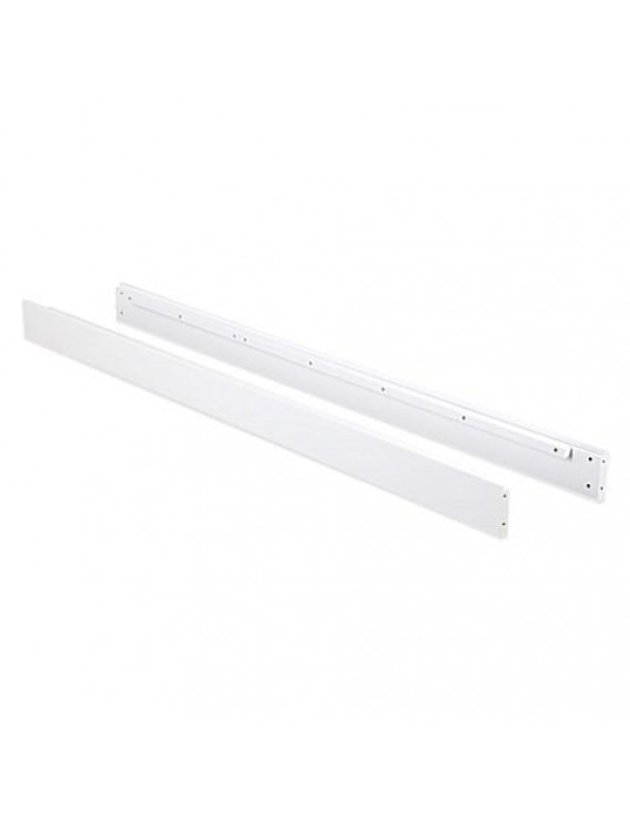 Karla Dubois Darby Full Bed Rail- White