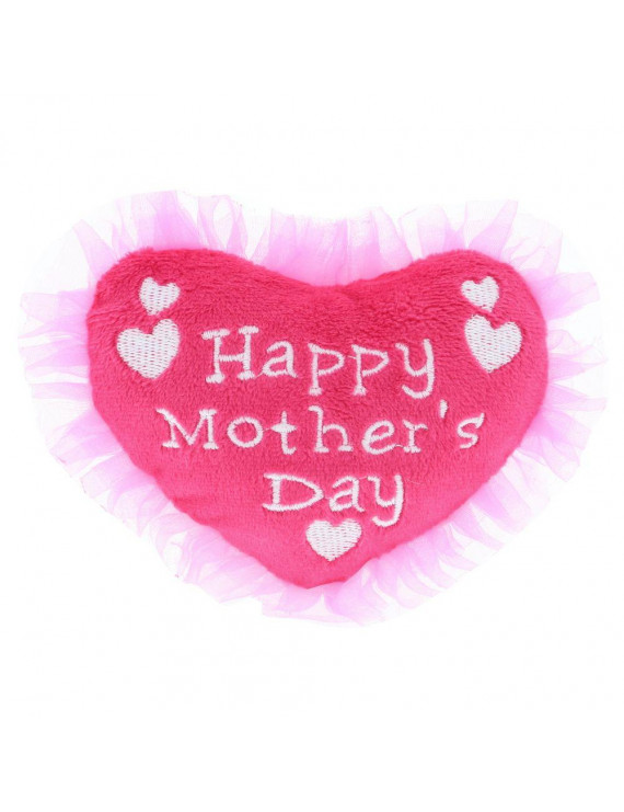 Dollibu Large Happy Mother's Day Pink Heart