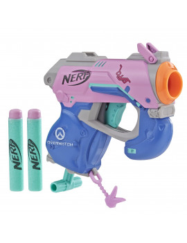 Nerf MicroShots Overwatch D.Va, Includes 2 Darts, Ages 8 and Up