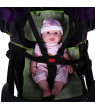 Ccdes Baby Chair Safety Harness,5 Point Harness Baby,Adjustable Baby Stroller Safety Strap Kids Dining Chair 5 Point Harness Child Pram Seat Belt