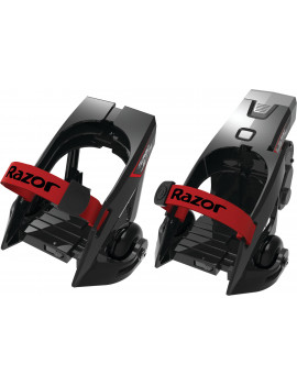Razor Turbo Jetts Electric Heel Wheels Black/Red- Ages 9+