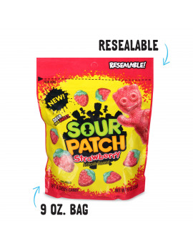 SOUR PATCH KIDS Strawberry Soft & Chewy Candy, 10 oz
