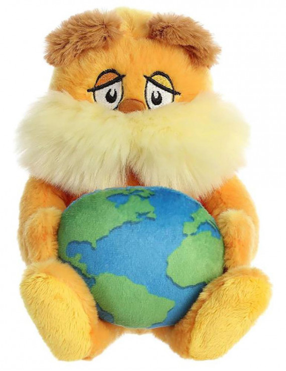 "Aurora - Dr Seuss - 11"" Lorax Planet Earth"