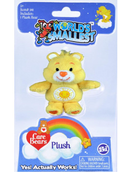 Care Bears (Styles May Vary), Multicolor, Assorted plush with beautiful embroidery By Worlds Smallest