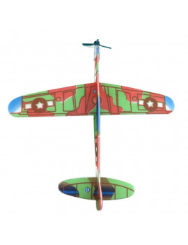 12 Pcs Handmade DIY Kids Foam Flying Airplane Toys