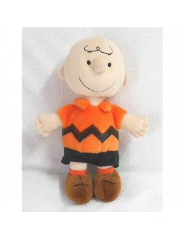"""Peanuts Plush 12"""" Charlie Brown Doll From Kohl's"""