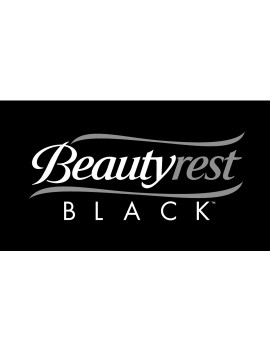 """Beautyrest Black Misty Nights 5.25"""" 231 Coils Dual Sided Crib and Toddler Mattress"""