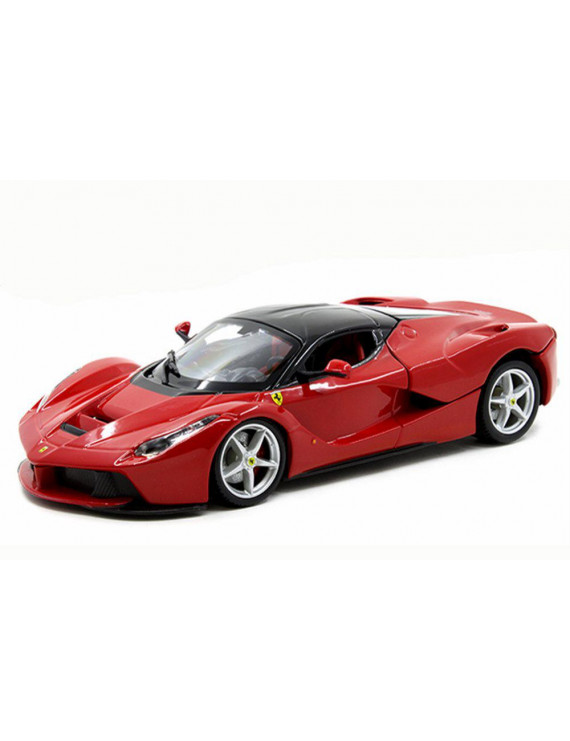 Ferrari La Ferrari, Red - Bburago 26051 - 1/24 scale Diecast Model Toy Car (Brand New but NO BOX)