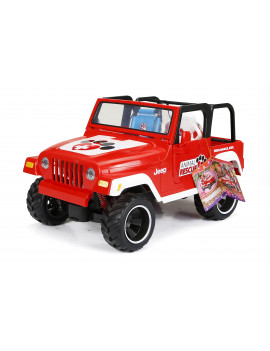 """My Life As Animal Rescue Jeep for 18"""" Doll, Red"""