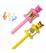 Outtop Baby Toy Cartoon Animal Wooden Handbell Musical Developmental Instrument