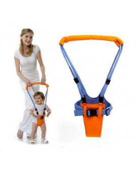 Baby Walking Assistant Toddler Walking Harness Handle Baby Walker, Standing Up and Walking Learning Helper for Baby, 4 In 1 Functional Safety Walking Walker Harness for Baby 7-24 Month