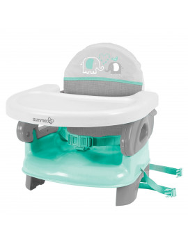 Summer Infant Deluxe Comfort Folding Booster Seat - Elephant Love