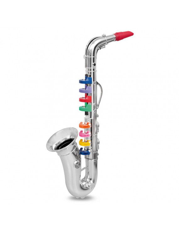 K050030 Kids Mini Musical Instrument Props Baby Music Playing Tool Children Simulation Saxophone Child Gift
