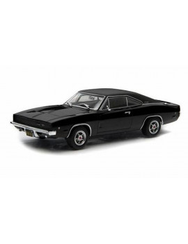 1968 Dodge Charger R/T, Steve McQueen Bullit - Greenlight 44711E - 1/64 Scale Diecast Model Toy Car