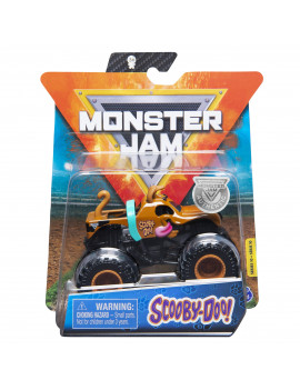 Monster Jam, Official Scooby Doo Truck, Die-Cast Vehicle, Ruff Crowd Series, 1:64 Scale (Styles May Vary)