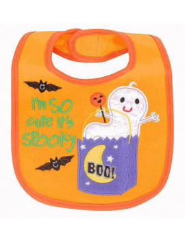 'I'm so Cute it's Spooky' Halloween Bib (Small) By Koala Baby