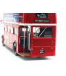 "Routemaster RM #76 ""Tottenham Garage"" Double Decker Bus Red 1/24 Diecast Model  by SunStar"