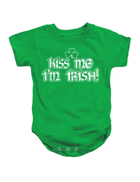 Irish Pride St Patrick's Day - Kiss Me Im Irish - Infant Onesie