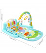Baby Gym Fitness Playmat Lay Play Music Lights Fun Piano Activity Toy Gift