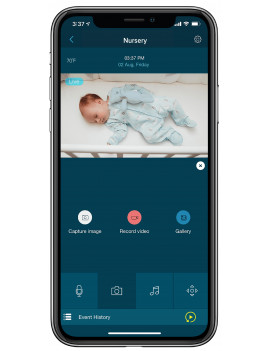 "Motorola CONNECTVIEW 65 PLUS - 5"" Wi-Fi Video Baby Monitor w/Over-the-Crib Mount"
