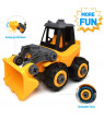 WisToyz Take Apart Toys, Toy Vehicles, Assembly Toy Bulldozer Constructions Set, Building Vehicle Play Set Screwdriver, Ideal Educational Toy Toddlers, Boys & Girls Aged 3, 4, 5, 6