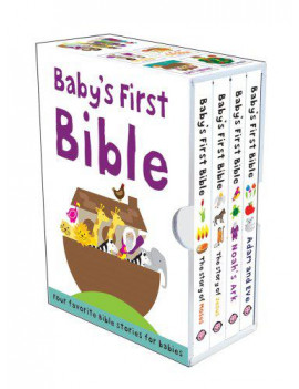 Baby's First Bible Boxed Set : The Story of Moses, The Story of Jesus, Noah's Ark, and Adam and Eve
