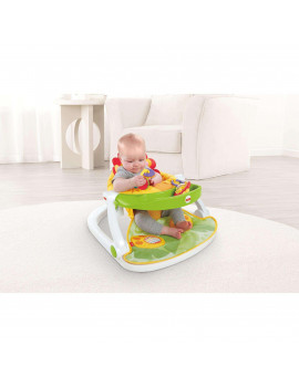 Fisher-Price Sit-Me-Up Lion Floor Seat with Removable Tray