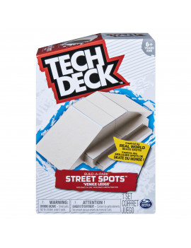 Tech Deck, Build-A-Park Street Spots, Venice Ledge, Ramps for Tech Deck Boards and Bikes