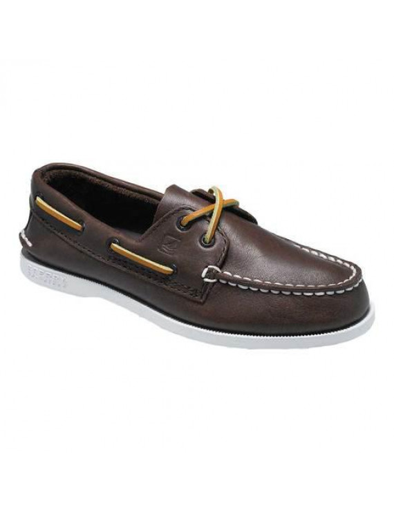 Leather Toddler Boys Boat Shoes