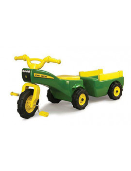 Green & Yellow Color Traditional Tractor