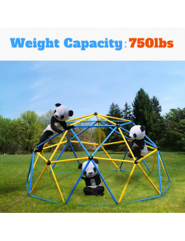 2020 Upgraded Outdoor Dome Climber with 750LBS, Suitable for 1-6 Kids Climbing Frame,Easy to assemble