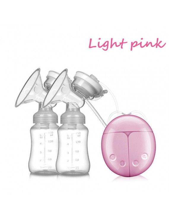 snorda Baby USB Double Intelligent Electric Breast Nipple Suction Pump Breastpump Kit