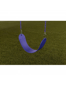 Creative Cedar Designs Standard Swing Seat with Chains, Purple