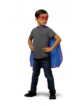 Adventure Force Super Hero Cape and Mask, Blue