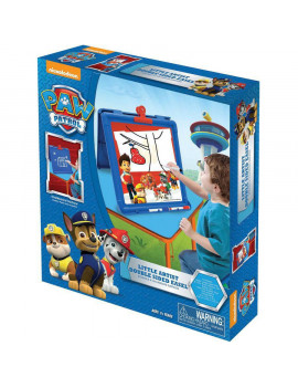 Kids Only! Nickelodeon Paw Patrol Little Artist Double-Sided Easel with 3 Markers