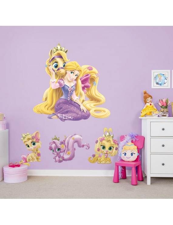 Fathead Palace Pets: Rapunzel Collection - X-Large Officially Licensed Disney Removable Wall Decals