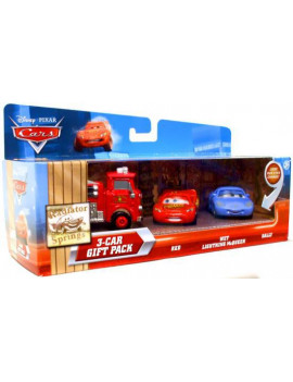 Disney Cars Radiator Springs Fire Engine Diecast Car Gift Pack Set, 3 Pack
