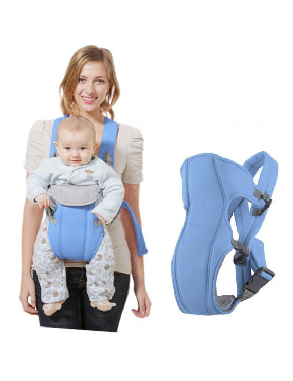 Amerteer Ergonomic Baby Carrier, Soft & Breathable Baby Carriers Backpack Front and Back Kid Sling Wrap for Infants to Toddlers
