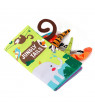 OTVIAP Cartoon 3D Tail Lovely Anti-tearing Cloth Book Baby Early Educational Toys,Toy, Book Toy