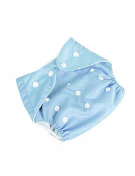 0-3Y Baby Cloth Diapers One Size Adjustable Washable Reusable for Baby Girls and Boys 1 Pack