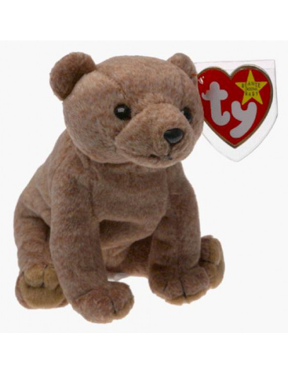 Ty Beanie Baby - Pecan The Bear Beanbag Plush