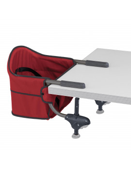 Chicco Caddy Portable Table Hook-On Chair, Red