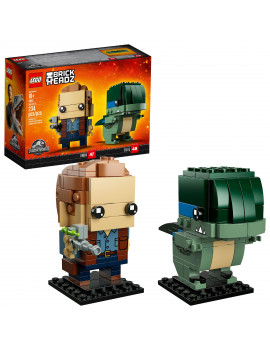 LEGO BrickHeadz Jurassic World Owen & Blue 41614 (234 Pieces)