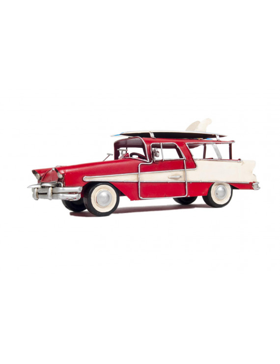 Old Modern Handicrafts 1957 Ford Country Squire Station Wagon Red