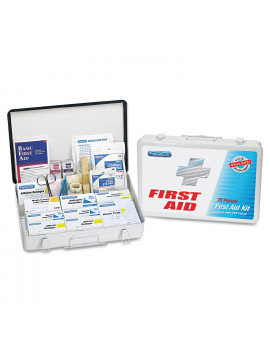 PhysiciansCare by First Aid Only First Aid Kit for up to 75 People, Metal, 419 Pieces/Kit