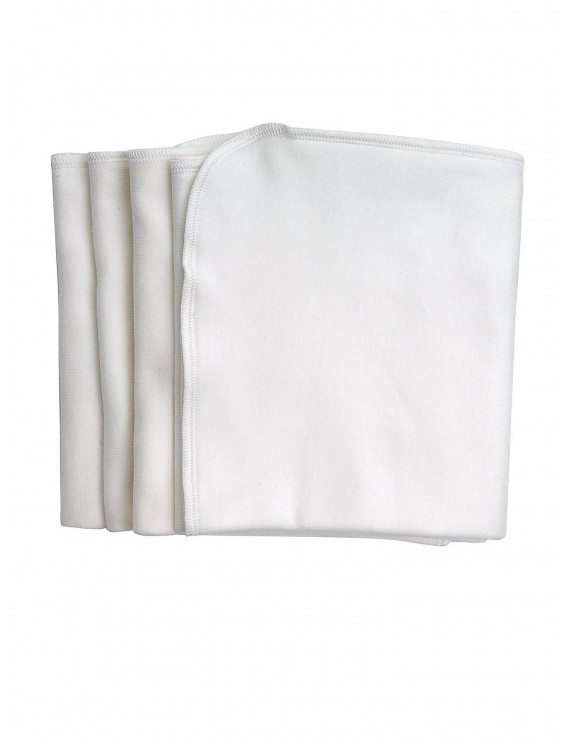 Under the Nile Organic Cotton Burp Cloths 4 Pack