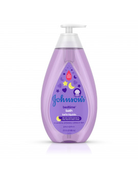 Johnson's Bedtime Baby Bath with Soothing Aromas, 27.1 fl. oz