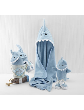 """Let the Fin Begin"" Bath Gift Set, 4 piece"